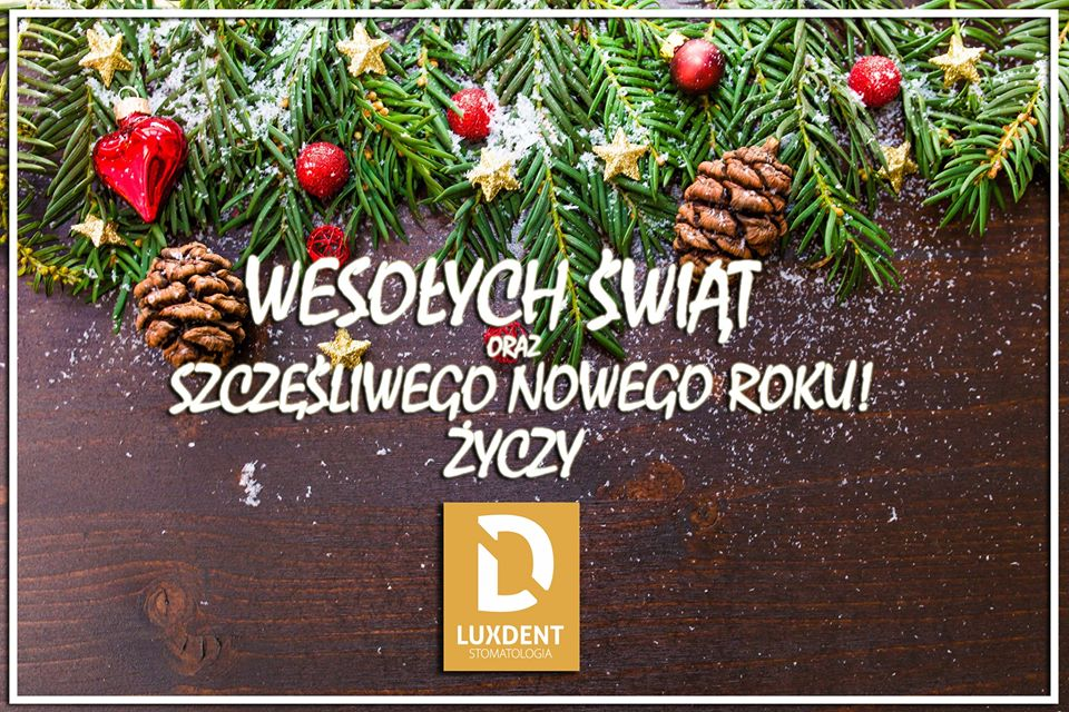 Życzenia LuxDent Kielce
