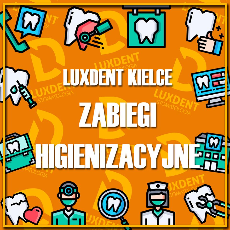 Zabiegi higienizacyjne LuxDent Kielce